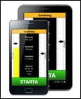 Smartphone med android app